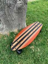 "Mini Cruiser Skateboard - ""Poche"" solid wood board"