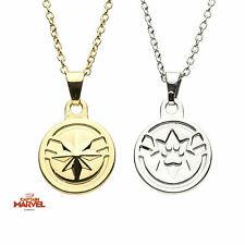 Captain Marvel Polished Finish Goose Bestfriend Premium Quality Pendent Necklace