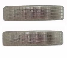 Pair Side Fender Lamp Light Signal Indicator Clear for BMW 5 E39 1997-2003