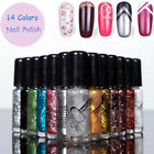 14 Colors New Stamping Polish Nail Polish & Stamp Art Pen 5ML