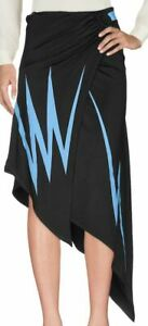 "WOW! New Tags Paco Rabanne ""Lightning"" asymmetrical skirt $680 sz 38 US 6"