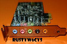 Creative Sound Blaster Audigy FX PCIe 5.1 Sound Card Low Profile SB1570 CC1KM