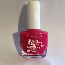 Maybelline  Super Stay  Forever Strong 7 day Gel Nail Polish Pink Volt 190