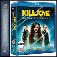 KILLJOYS COMPLETE SEASONS 1 2 3 4 & 5 *BRAND NEW BLU-RAY BOXSET ** REGION FREE