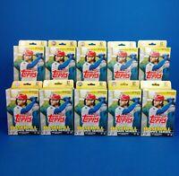 2020 Topps Update Series Baseball Hanger Pack Lot Of 10 Sealed Packs 67 Per Pack