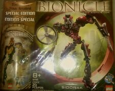 LEGO Bionicle Set 65813 Special Edition 2-Pack Sidorak 8756 Toa Iruini 8762 fr/s