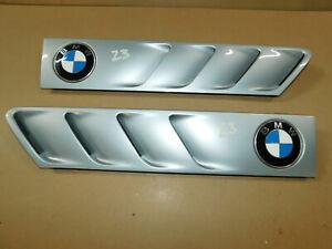 BMW Z3  Roadster 1.9 2.2 2.5 2.8 Fender Guard Grills - PAIR 8397505, 8397506 B