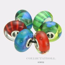 Authentic Trollbeads Silver Northern Forest Kit - 6 Beads Trollbead  63052