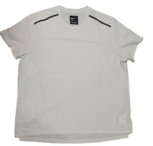 Nike Tech Pack Dri Fit Herren Sport Shirt Weiß Schwarz Größe XL Neu