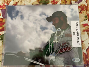 Dale Earnhardt Jr Signed 8x10 Photo AUTO Beckett COA