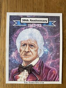 Doctor Who Promotional Trading Card: CCC ltd: Third 3rd Doctor: 1993