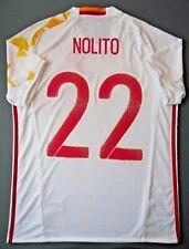 Nolito Spain Jersey 2015 2017 Away Size M Shirt Mens Camiseta Adidas AA0830 ig93