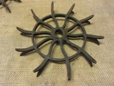 Vintage Iron Rotory Wheel Rare Design Garden Decor > Antique Farm Old Tools 9780