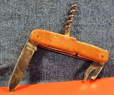 """P.HÖLZER Solingen""  Red&Stainless Steel German Circa 1950's  Pocket Knife"