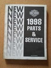 HARLEY DAVIDSON MOTOR COMPANY 1998 PARTS AND SERVICE MANUAL P/N 99449-98