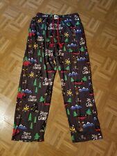 Lazy One Mens Pajama Bottoms Lounge Pants Happy Camper Funny Sleepwear Large