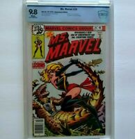 Ms. MARVEL # 20 CBCS 9.8 ~ WHITE PAGES ~ just like CGC ~ 1st Black Costume