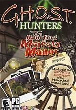 Video Game PC GHOST Hunters The Haunting of Majesty Manor G.H.O.S.T. SEALED Box
