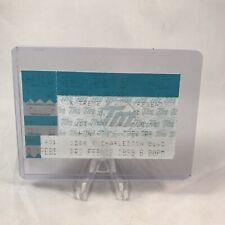 Vanilla Ice Huntridge Theatre Nv Concert Ticket Stub Vintage February 12 1999