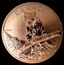 CANADA 2012 WILD LIFE SERIES COUGAR $5.00 BU