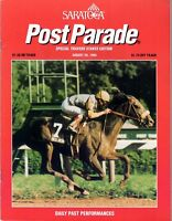 HOLY BULL IN 1994 SARATOGA RACE COURSE TRAVERS STAKES HORSE RACING PROGRAM!