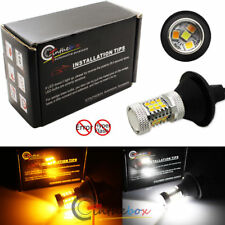 No Hyper Flash 7440 Switchback LED Bulbs For Front Turn Signal Lights or DRL