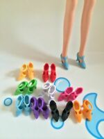 42Pair white DOLL Shoes Sandals Doll Shoes For  11.5in DoLL High Heels Sandals
