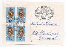 1975 GERMANY Cover BONN to PLAUEN Postcard Philatelic Special Cancel