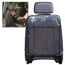 1x Vehicle Seat Back Rear Protector PVC Anti Stain Mud Cover Mat Pad For Car