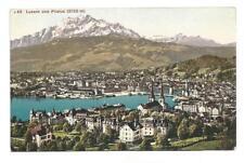 AK Luzern und Pilatus, um 1910 (unbeschriebenes Sammlungsstück)
