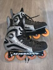 Mission DNA D3c Inline Roller Hockey Skates Senior Size 13