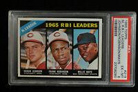 1966 Topps - #219 - NL RBI Leaders - PSA 6 - EX-MT