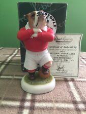 Robert Harrow Bulldog Man Utd Red Devils Limited Edition No26