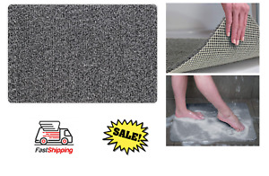 Hydro Wonder Super Comfy Shower Mat that Never Stains or Blocks Your Drain Grey