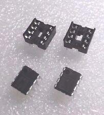 2 x 555 NE555 NE555P IC TIMER di precisione con 8 pin Socket DIP