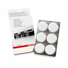 6-Pack Calcium Deposit Descaling Tablets Miele Coffee Espresso Machine Care Item