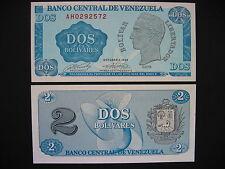Venezuela 2 bolívares 5.10.1989 (p69) UNC