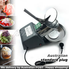 AU Plug Electric Snow Cone Home Commercial ice Shaver Maker Ice Crusher Machine