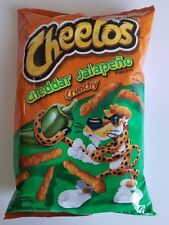 NEW FRITO LAY CHEETOS CHEDDAR JALAPENO CRUNCHY CHIPS FREE WORLDWIDE SHIPPING