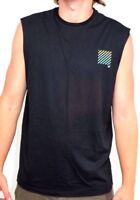 Men's Billabong Palm Invert Black Muscle Shirt / Tank. Size L. NWT, RRP $45.99.