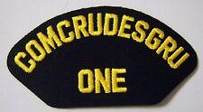 USN CAP/JACKET PATCH - COMCRUDESGRU ONE:FL13-1