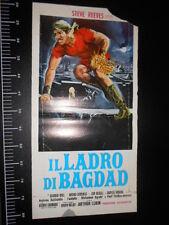 ★ Manifesto Locandina Il ladro di Bagdad Poster Playbill ★