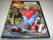 """CYCLE STUNTS TOO SICK for TV, D-Aces """"SET IT OFF!"""" DVD, Street Bikers NEW SEALED"""