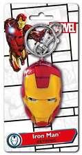 Marvel Iron Man Helmet Pewter Keyring, New