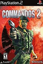 Commandos 2-Men of Courage PLAYSTATION 2 (PS2) Action / Adventure (Video Game)