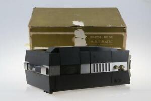 BOLEX Multimatic Super 8 Projektor - SNr: 102358