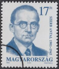 Specimen, Hungary Sc3406 Writer Antal Szerb (1901-45)