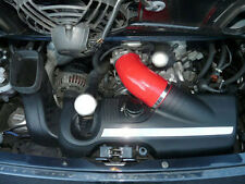 Porsche 996 & 997 Carrera C2 C4 Non-Turbo Upgrade Air Intake Box Hose Kit RED