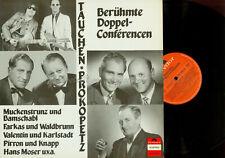 LP-- Berühmte Doppelconferencen / Tauchen Prokopetz // Farkas Waldbrunn uvm.