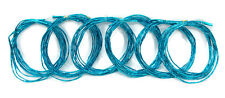 Metallic Foil Twisted Streamer Bow Garland - Blue